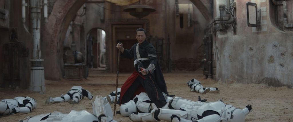 Rogue One A Star Wars Story Chirrut Imwe victoire