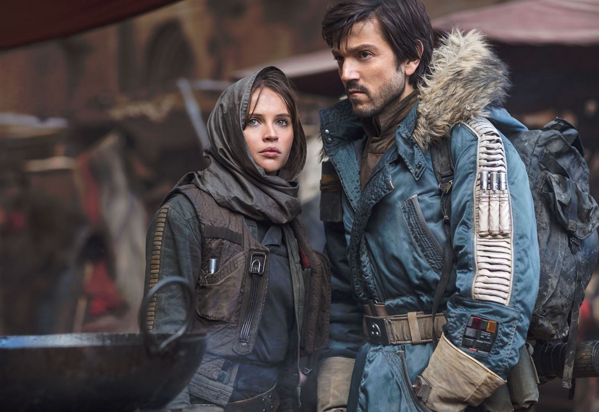 Rogue One A Star Wars Story Jyn Erso Cassian Andor